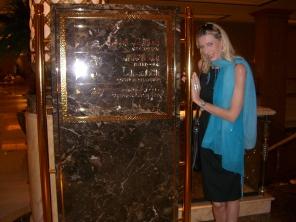 Reisebloggerin im Emirates Palace