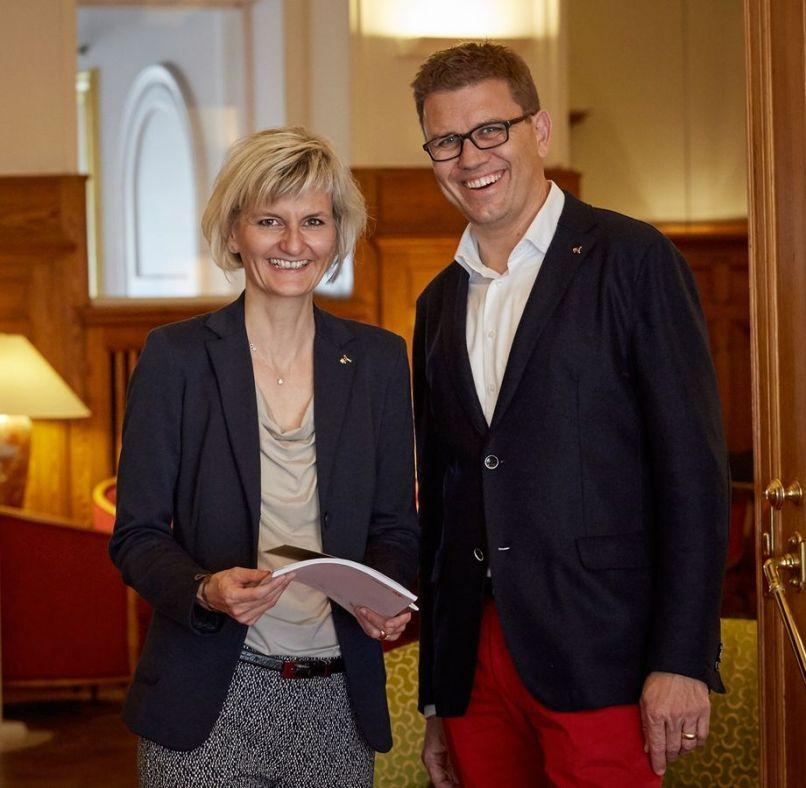 Yvonne Urban-Scherer und Martin Scherer