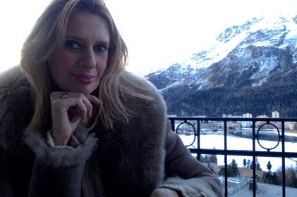 Reisebloggerin in St. Moritz