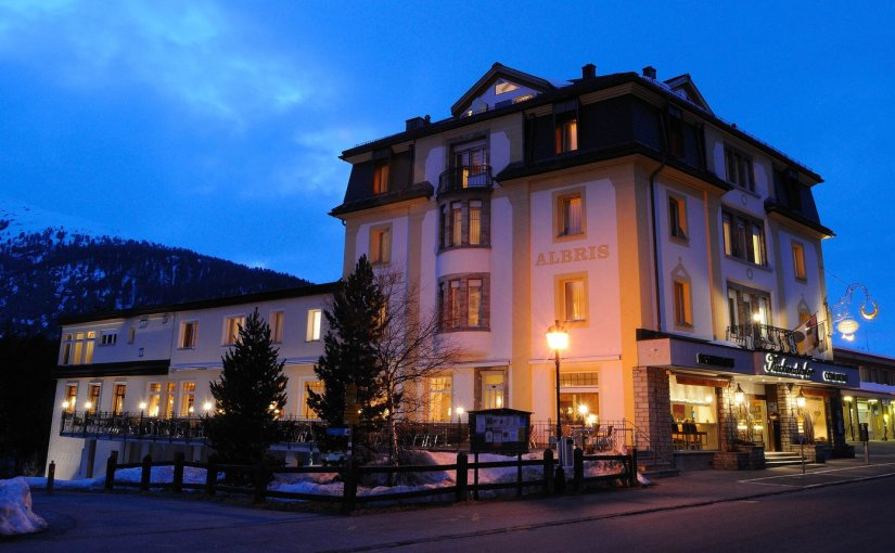REISEBERICHT: HOTEL ALBRIS,PONTRESINA