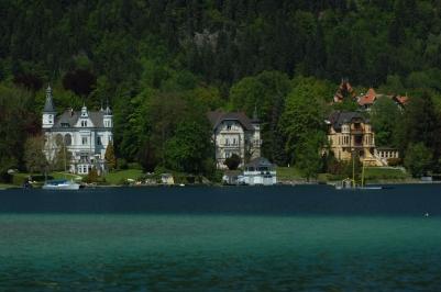 Das historische Villenensemble (© Wörthersee Tourismus)